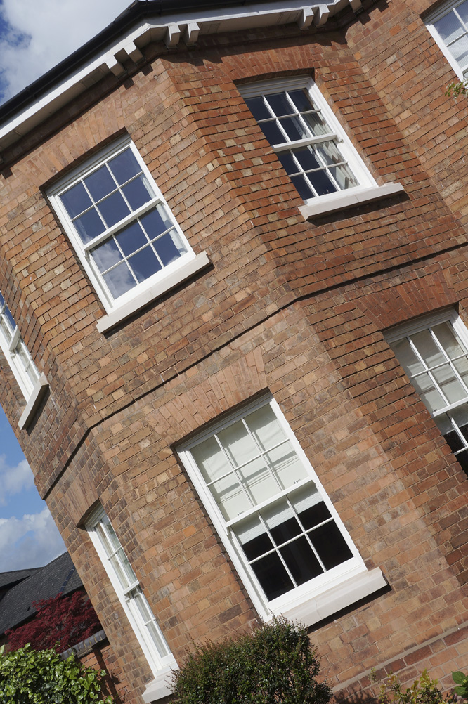 Knowles warwickshire conventional sash window