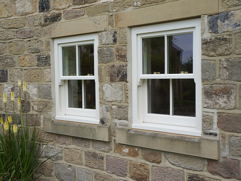 conentionla box sash window cream georgian bar