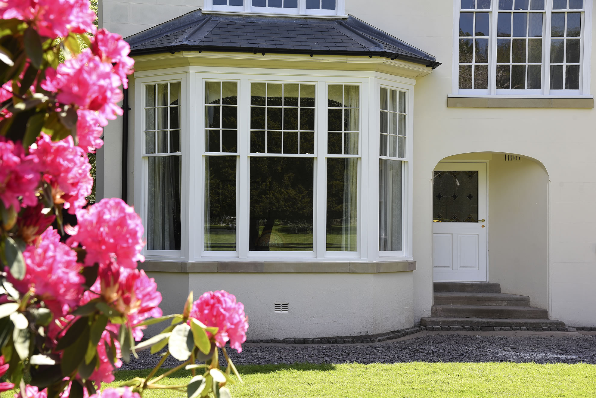Timber windows Leamington Spa